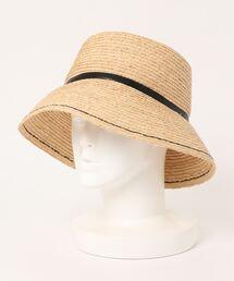 帽子 ハット カカトゥ kakatoo / ステッチワークラフィアバゲットハット|ZOZOTOWN PayPayモール店