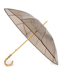 傘 Traditional Weatherwear: バンブーハンドル クリア アンブレラ◆|ZOZOTOWN PayPayモール店