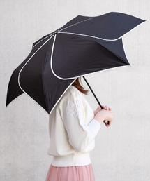 折りたたみ傘 モノトーンフラワー折り畳み晴雨兼用傘|ZOZOTOWN PayPayモール店