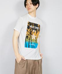 tシャツ Tシャツ FL/フォトプリントサーフSSTシャツヤシの実|ZOZOTOWN PayPayモール店
