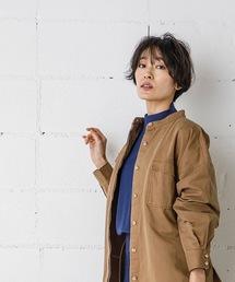 ジャケット ノーカラージャケット CPOシャツジャケット(オーバーサイズシャツ)|ZOZOTOWN PayPayモール店