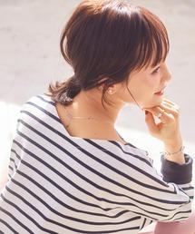 tシャツ Tシャツ ネックが選べる2TYPE ボーダー柄or無地ヘビーウェイトカットソーボートネックロンTプルオーバー|ZOZOTOWN PayPayモール店