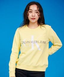 スウェット サスティナブル モノグラム CK ロゴ スウェットシャツ|ZOZOTOWN PayPayモール店