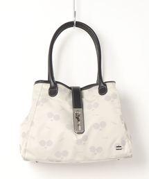 トートバッグ バッグ LA BAGAGERIE × a-jolie コラボ ひねり金具おむすびトート|ZOZOTOWN PayPayモール店