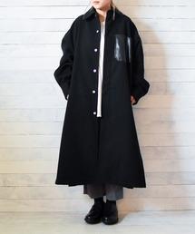 ステンカラーコート 【Ja】【SUPERTHANKS】LONG SHIRT COAT|ZOZOTOWN PayPayモール店