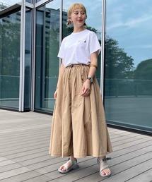 スカート GRAMICCI × BEAMS BOY / 別注 プールナイロン ロング スカート|ZOZOTOWN PayPayモール店
