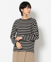 tシャツ Tシャツ MANASTASH/マナスタッシュ リネンコットンボーダーダブルフェイスプルオーバー|ZOZOTOWN PayPayモール店
