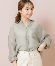 シャツ ブラウス バルーンシアーシャツ2|ZOZOTOWN PayPayモール店