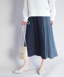 スカート 異素材レイヤード風スカート ZOZOTOWN PayPayモール店