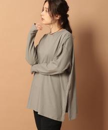 tシャツ Tシャツ サイドスナップボタンロンT 917720|ZOZOTOWN PayPayモール店