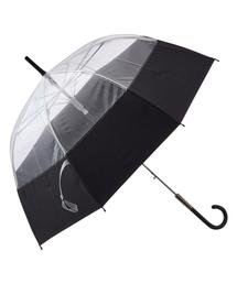 傘 【雨傘】プリュイ バイカラー ビニール傘 58cm ブラック|ZOZOTOWN PayPayモール店