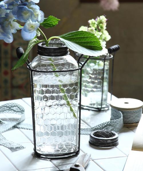 花瓶 限定モデル ハニカムフラワーベース 新作 大人気 Lサイズ