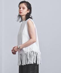 tシャツ Tシャツ <EZUMi(エズミ)>フリンジ ノースリーブTシャツ|ZOZOTOWN PayPayモール店