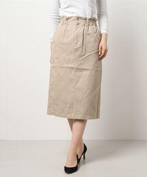 スカート ツイルウエストフリルスカート|ZOZOTOWN PayPayモール店