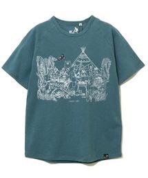 tシャツ Tシャツ 鹿の子JUNGLE CAMP刺繍プリントラグランTEE|ZOZOTOWN PayPayモール店