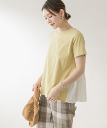 tシャツ Tシャツ F by ROSSO バックギャザー切替Tシャツ ZOZOTOWN PayPayモール店