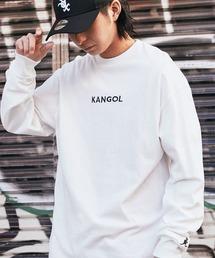tシャツ Tシャツ KANGOL/カンゴール コラボ 別注ロゴ刺繍 L/S オーバーサイズカットソー -2021SPRING STYLE- ZOZOTOWN PayPayモール店