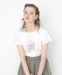 tシャツ Tシャツ パルファムコクリコ フレアースリーブTシャツ ZOZOTOWN PayPayモール店