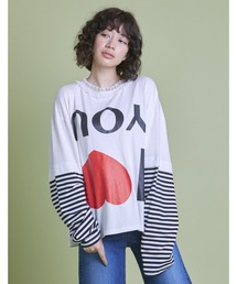 tシャツ Tシャツ I love you long tee|ZOZOTOWN PayPayモール店