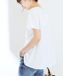 tシャツ Tシャツ トルファンコットンペプラムプルオーバー【手洗い可能】◆|ZOZOTOWN PayPayモール店