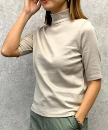 tシャツ Tシャツ 【人気商品】半袖ハイネックリブカットソー ZOZOTOWN PayPayモール店