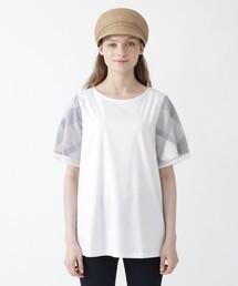 tシャツ Tシャツ ハイゲージシルケットスムース チュニックカットソー|ZOZOTOWN PayPayモール店