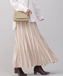 スカート マルチストライプフレアスカート|ZOZOTOWN PayPayモール店