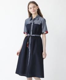 ワンピース ライトドライ・ダンガリーシャツドレス|ZOZOTOWN PayPayモール店