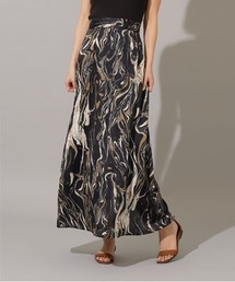 スカート marble satin skirt ZOZOTOWN PayPayモール店
