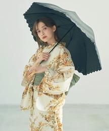 傘 フラワー刺繍バンブー日傘【TN】|ZOZOTOWN PayPayモール店