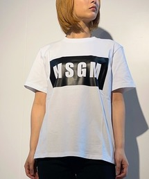 tシャツ Tシャツ MSGM(エムエスジーエム)BOXロゴTシャツ|ZOZOTOWN PayPayモール店