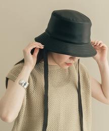 帽子 ハット フェイクレザー2WAYバケットハット|ZOZOTOWN PayPayモール店
