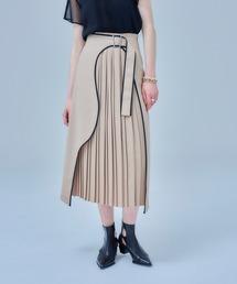 スカート アートカットプリーツスカート|ZOZOTOWN PayPayモール店