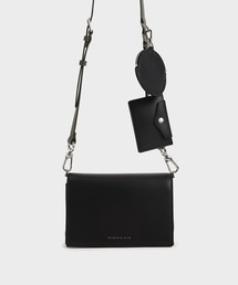 ショルダーバッグ バッグ ダブルポーチ クロスボディバッグ / Double Pouch Crossbody Bag|ZOZOTOWN PayPayモール店