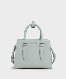 バッグ ハンドバッグ ダブルトップハンドル ストラクチャードバッグ / Double Top Handle Structured Bag|ZOZOTOWN PayPayモール店