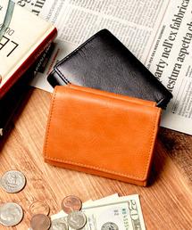 財布 <Add+>本革 クラシックレザー 三つ折り ミニ財布 コンパクト財布|ZOZOTOWN PayPayモール店