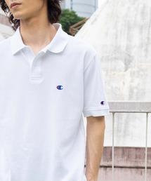 ポロシャツ ∴WEGO/【WEB限定】Champion チャンピオン 刺繍半袖ポロシャツ|ZOZOTOWN PayPayモール店