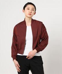 ジャケット MA-1 DETAILS women / バックボリュームジップ ブルゾン|ZOZOTOWN PayPayモール店