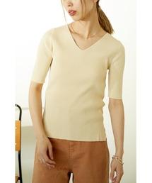 tシャツ Tシャツ washable v neck knit tops<ウォッシャブルブイネックトップス>|ZOZOTOWN PayPayモール店
