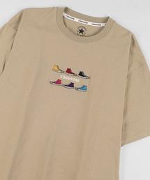 tシャツ Tシャツ 【CONVERSE/コンバース】6シューズ刺繍 ブランドロゴ刺繍 半袖Tシャツ/ショートスリーブ/2021 SUMMER|ZOZOTOWN PayPayモール店