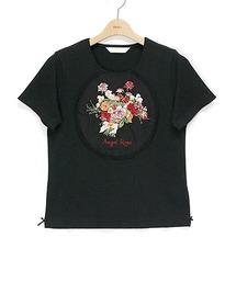 tシャツ Tシャツ エンジェルローズ刺繍カットソー|ZOZOTOWN PayPayモール店