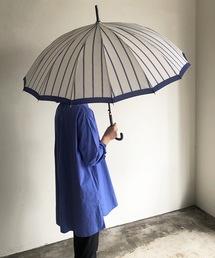 傘 NT:16本骨 モダンストライプ アンブレラ 長傘|ZOZOTOWN PayPayモール店