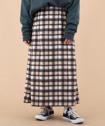スカート 【kutir closet】起毛チェックスカート|ZOZOTOWN PayPayモール店