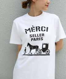 tシャツ Tシャツ MERCIロゴクルーネックT|ZOZOTOWN PayPayモール店