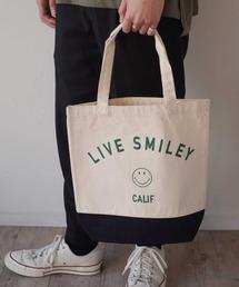 トートバッグ バッグ 【 LIVE SMILEY / ライブスマイリー 】 LIVE SMILEY TOTE BAG|ZOZOTOWN PayPayモール店