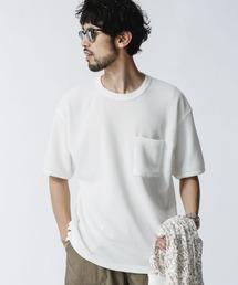 tシャツ Tシャツ リラックスフィットワッフルTシャツ 半袖 ZOZOTOWN PayPayモール店