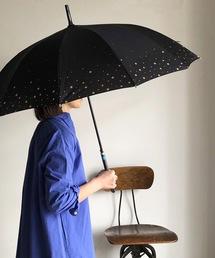 傘 NT:12本骨 ステラ2  星柄 スター柄傘 レディース長傘|ZOZOTOWN PayPayモール店