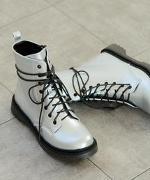 ブーツ タンクソールの8ホールレースアップブーツ|ZOZOTOWN PayPayモール店