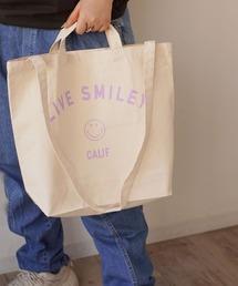 トートバッグ バッグ 【 LIVE SMILEY / ライブスマイリー 】 LIVE SMILEY SHOULDER 2WAY TOTE BAG ZOZOTOWN PayPayモール店