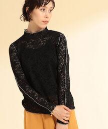 tシャツ Tシャツ Ray BEAMS / レース 配色 メロー Tシャツ|ZOZOTOWN PayPayモール店